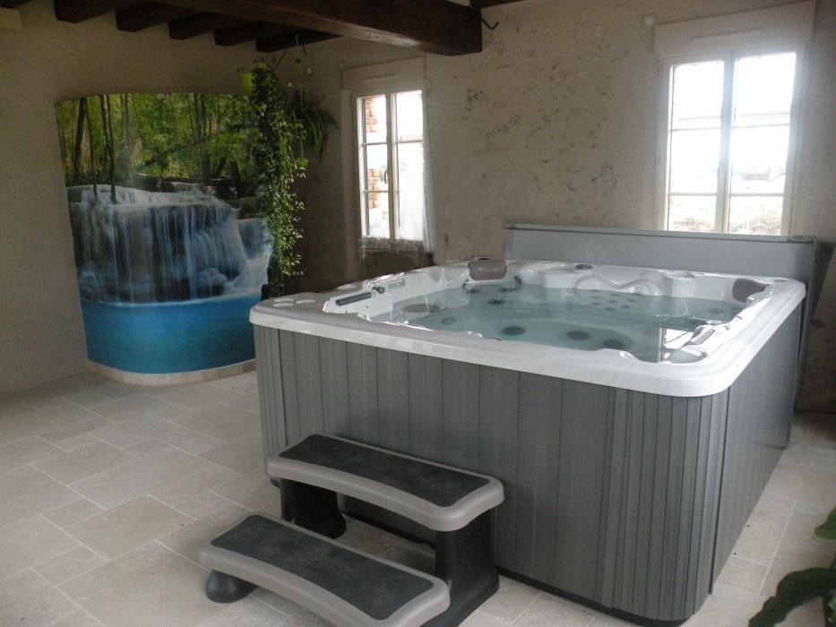Lecomte hydrobulles spas cabines infrarouges saunas hammams - Salon amenagement interieur ...