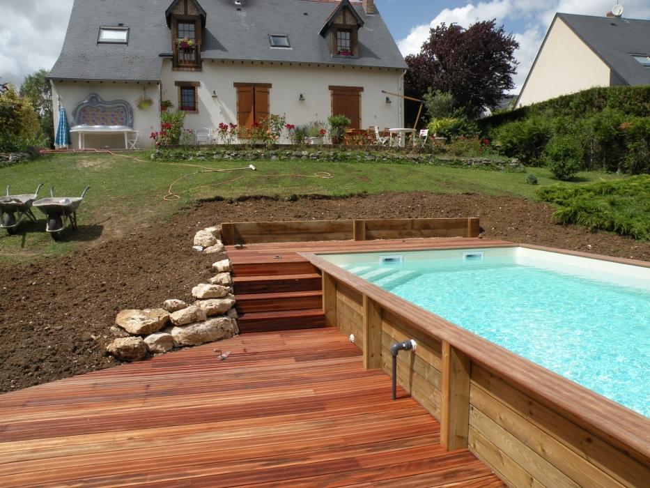 Lecomte hydrobulles piscines en bois for Piscine bois a debordement